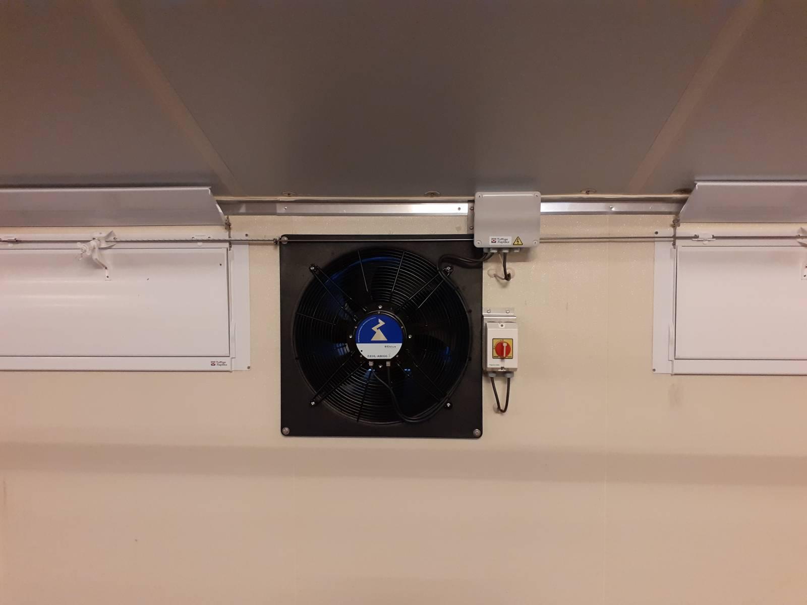 Ventilateur économie d'énergie progressif