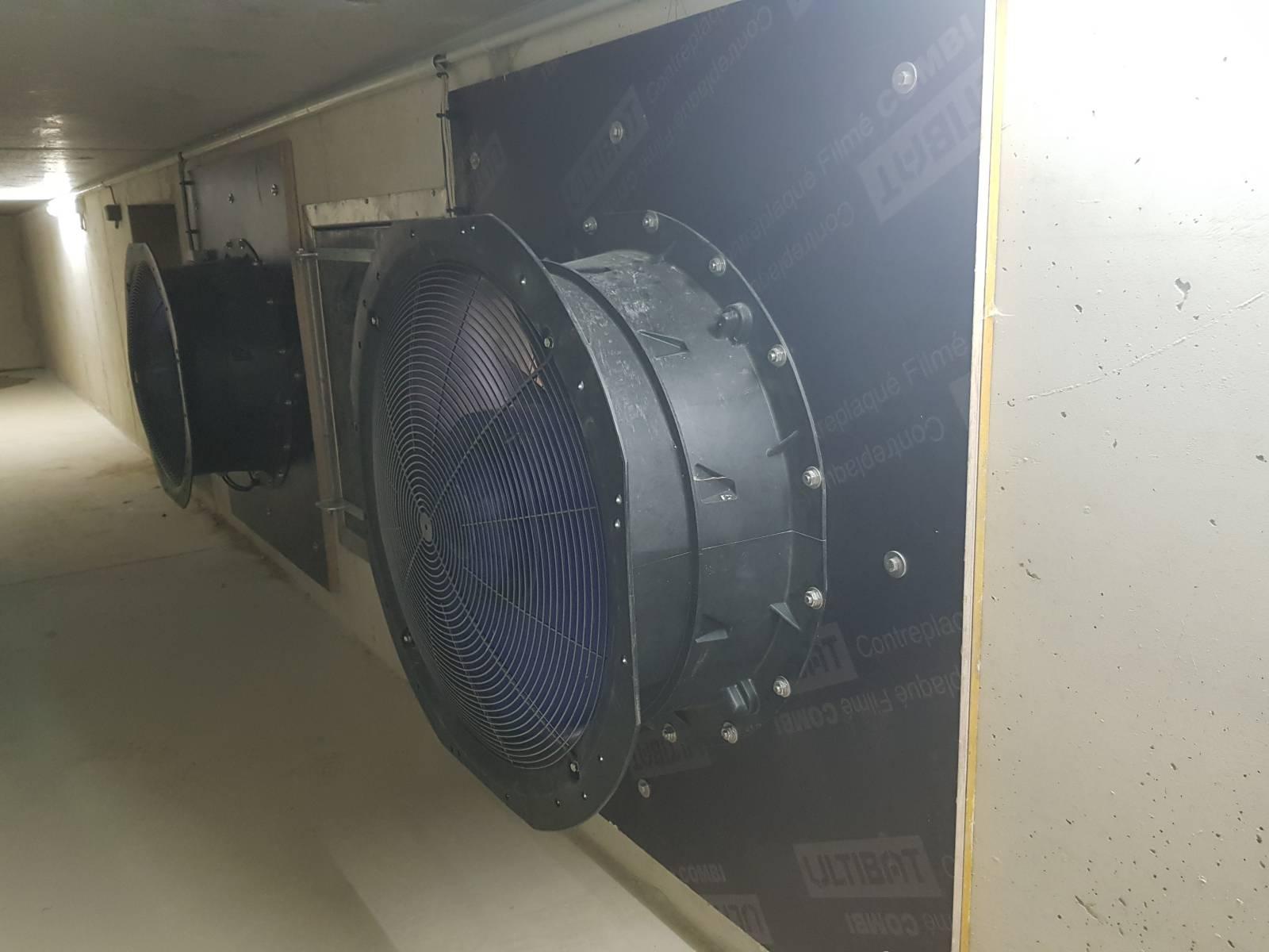Turbine d'extraction centralisée - Ventilation